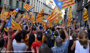 Barcelonne 11-09-2012 Via Laietana