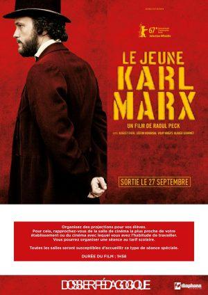 Le Jeune Karl Marx Dos pédago Couv