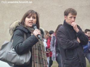 Chartres Collège Jean-Moulin Rassemblement 13-12-2017 d