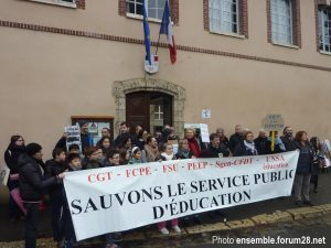 Chartres Collège Jean-Moulin Rassemblement 13-12-2017 f