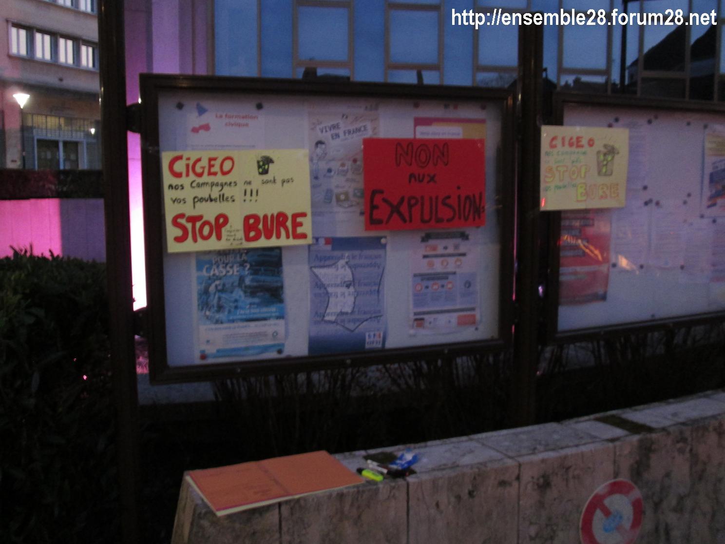 Bure Rassemblement Préfecture Chartres 22 02 2018 n°2