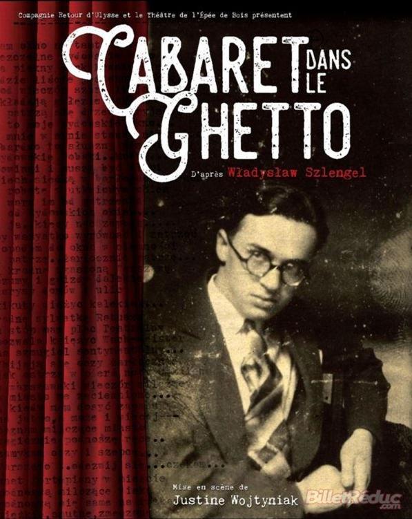 Cabaret dans le Ghetto Affiche