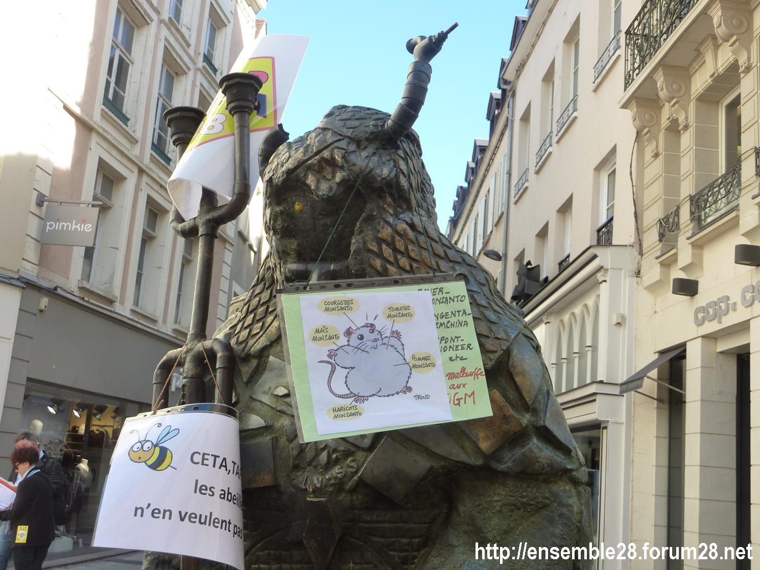 Rachid Khimoune Les Croisés Chartres Non à TAFTA-CETA