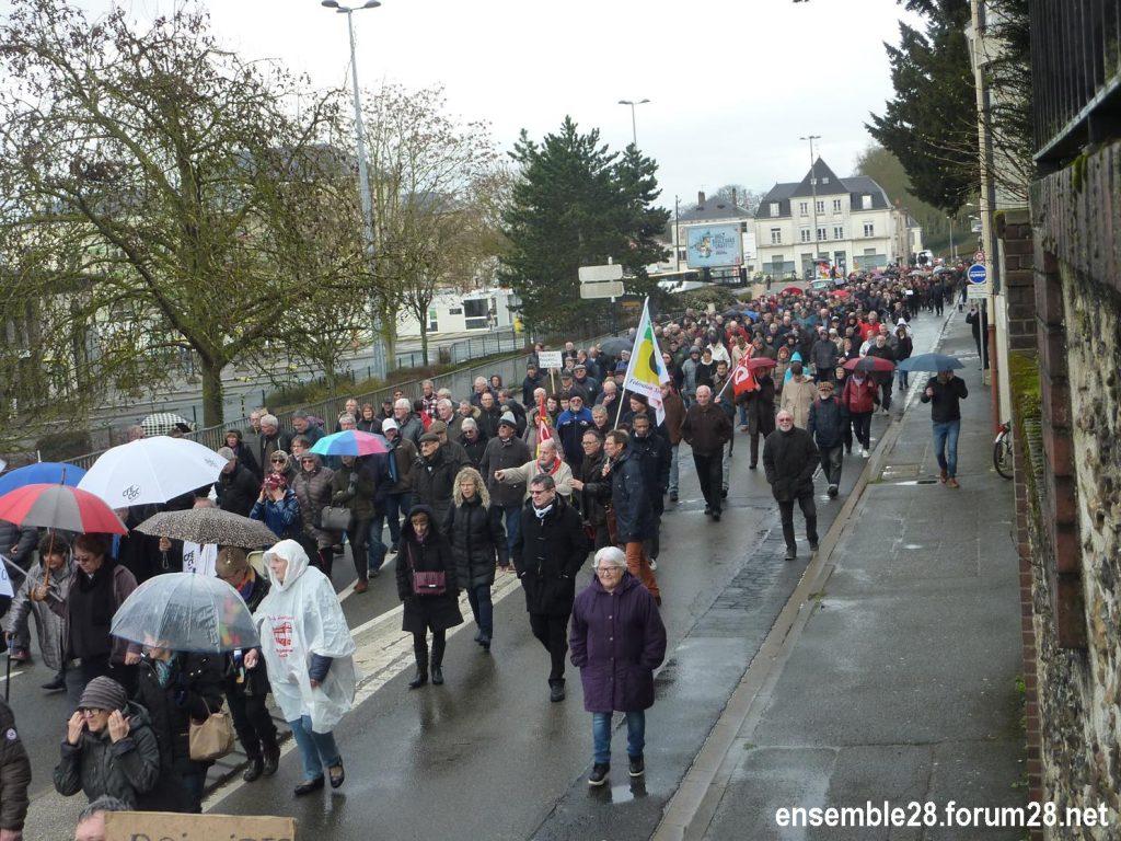 Chartres 15-03-2018 Manifestation Retraités 08