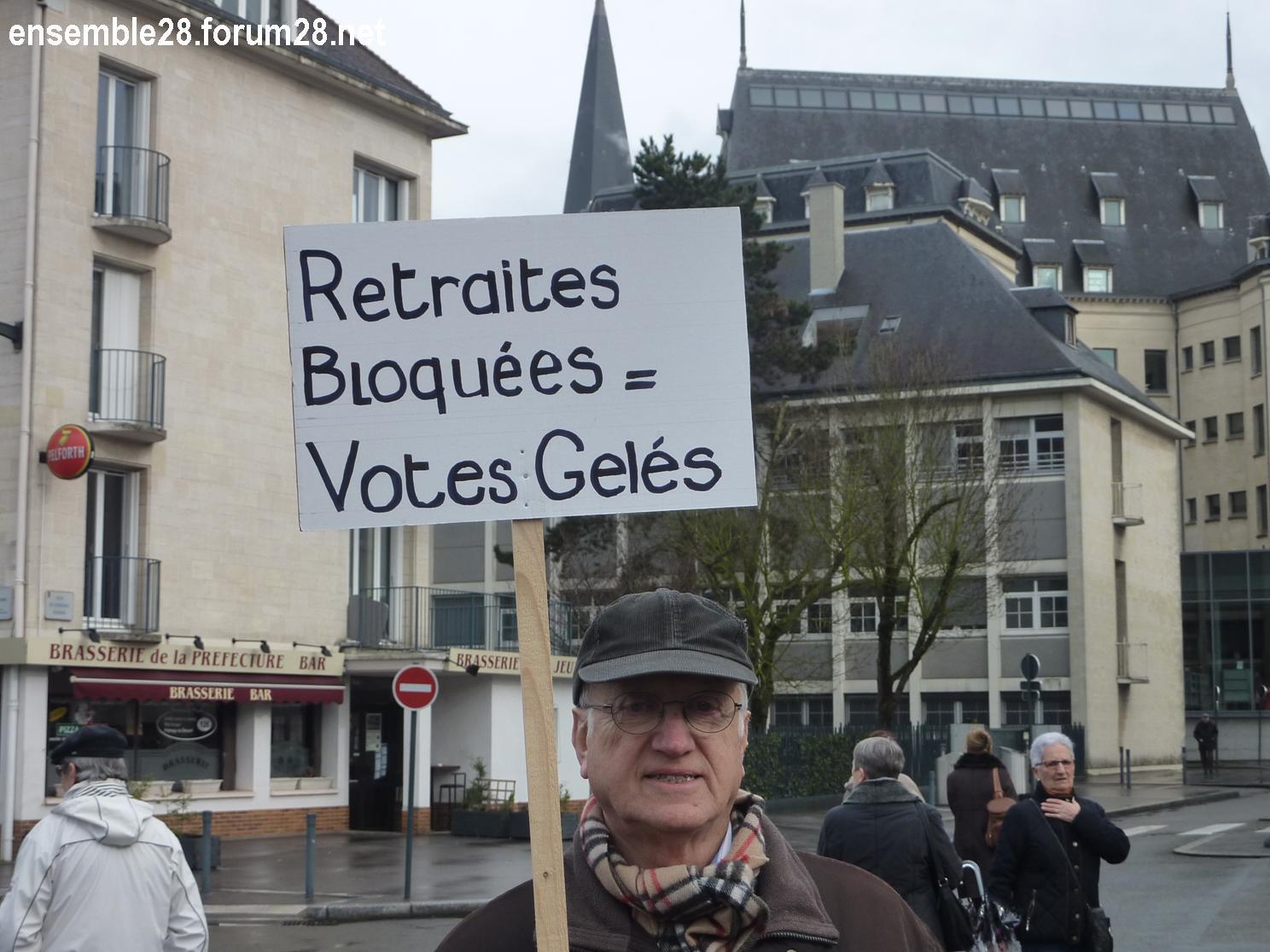 Chartres 15-03-2018 Manifestation Retraités 11