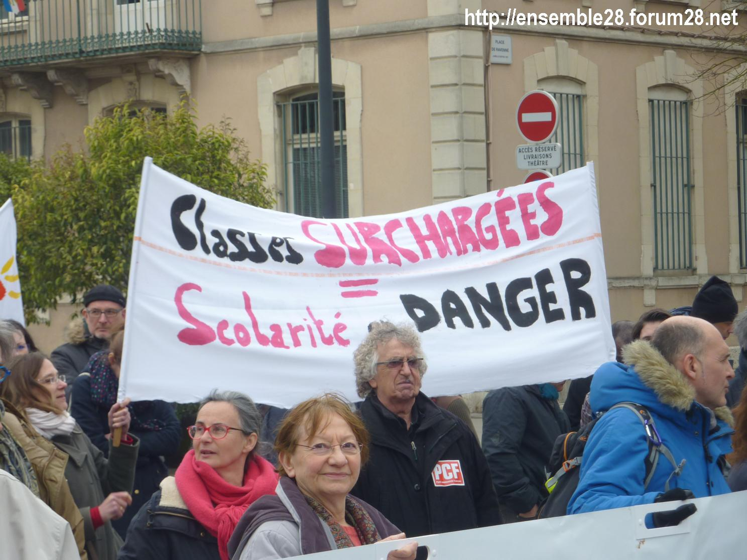 Chartres 2018-03-22 Manifestation Fonctionnaires 11