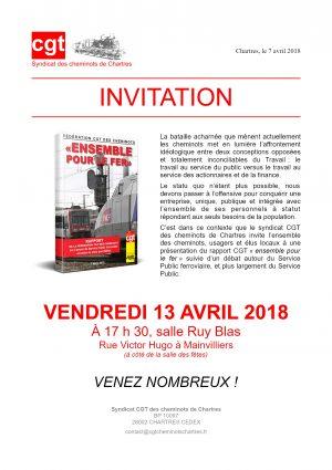 2018-04-13 Invitation Débat public CGT Cheminots Chartres