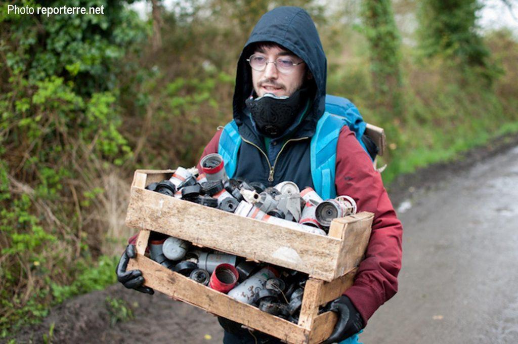 Changement climatique, récolte de grenades dans le bocage