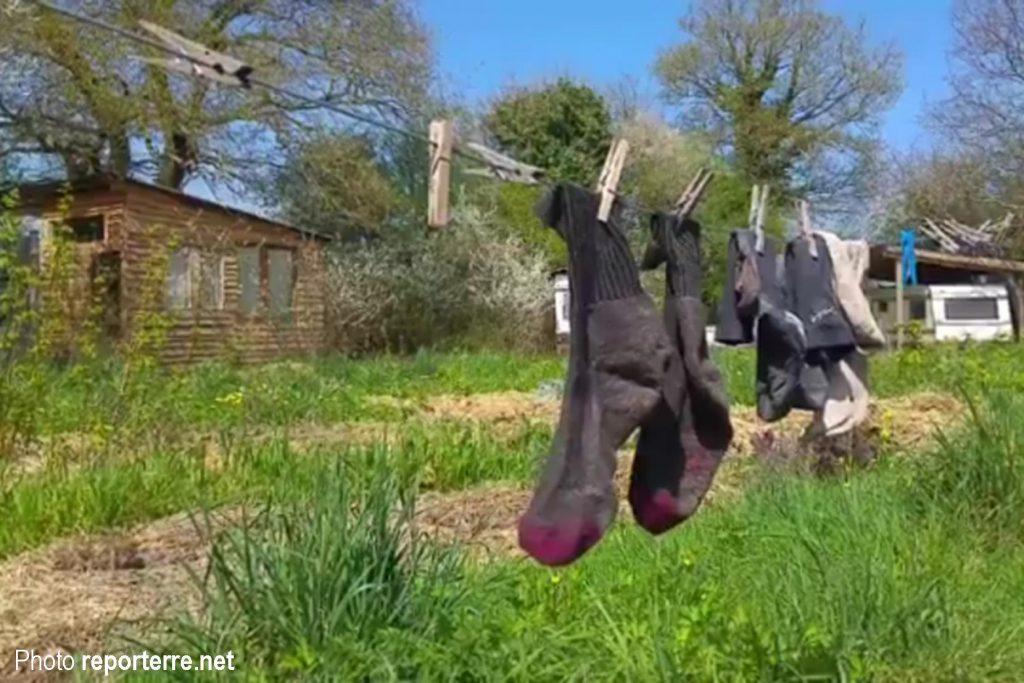 Petit répit pour les chaussettes