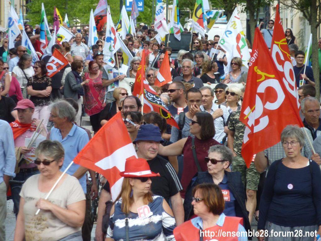 2018-05-22 Chartres Manifestation Fonction-publique 05