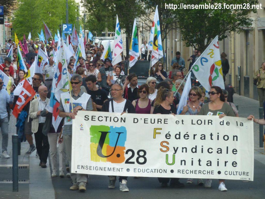 2018-05-22 Chartres Manifestation Fonction-publique 06