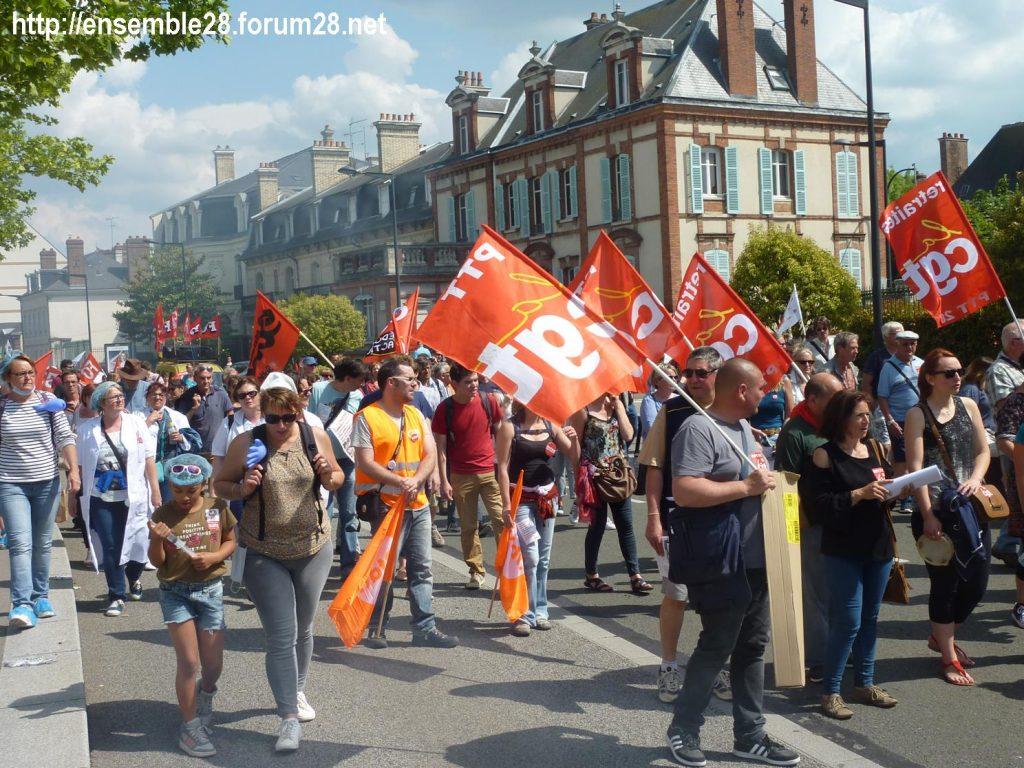 2018-05-22 Chartres Manifestation Fonction-publique 08