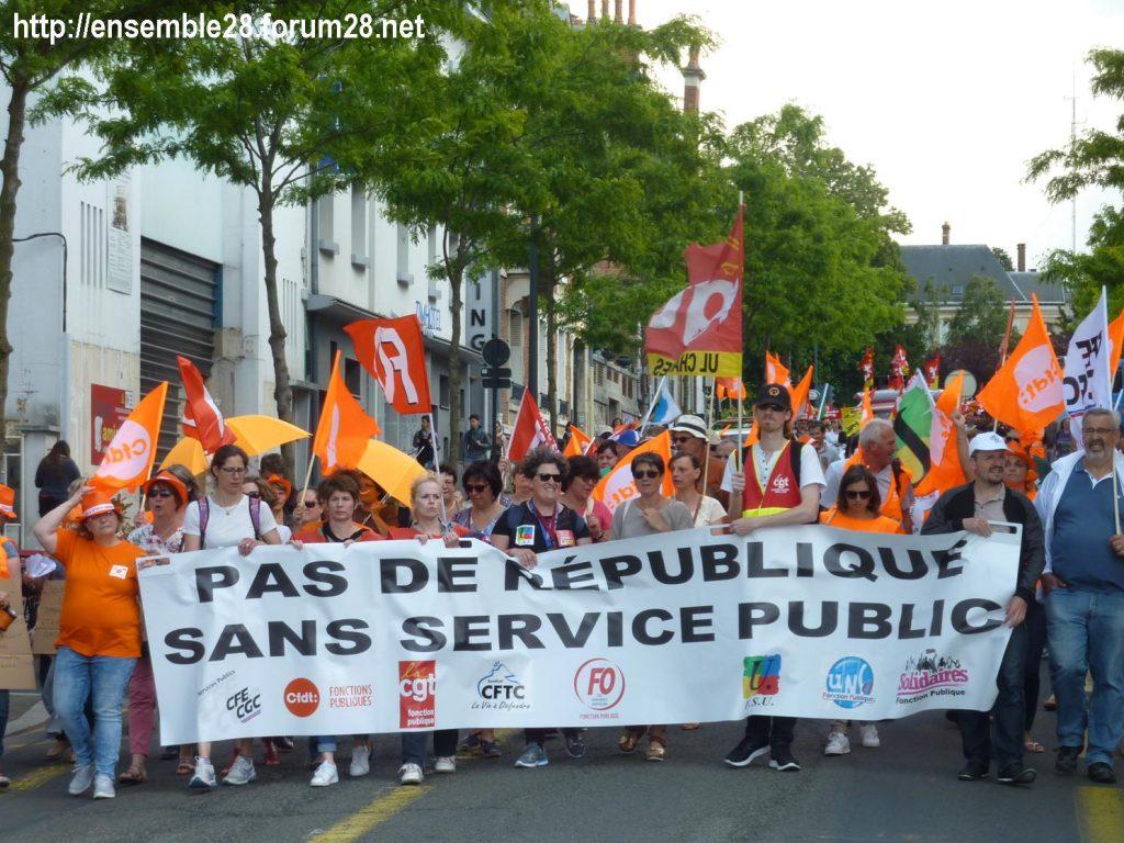 2018-05-22 Chartres Manifestation Fonction-publique 09