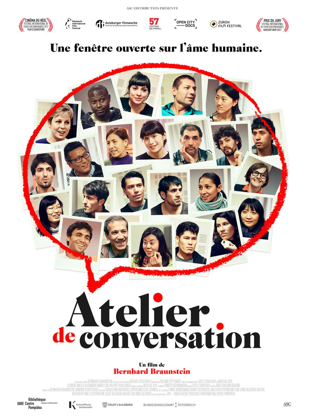 Atelier de conversation Affiche