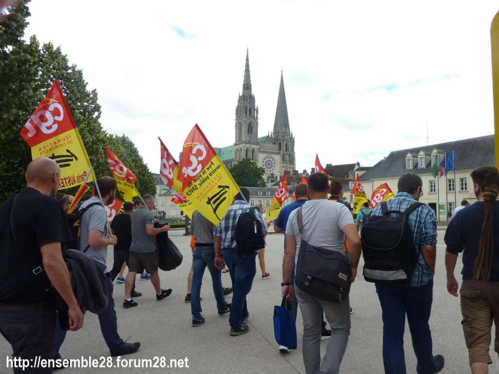 Chartres 18-06-2018 Manifestation CGT Cheminots 03