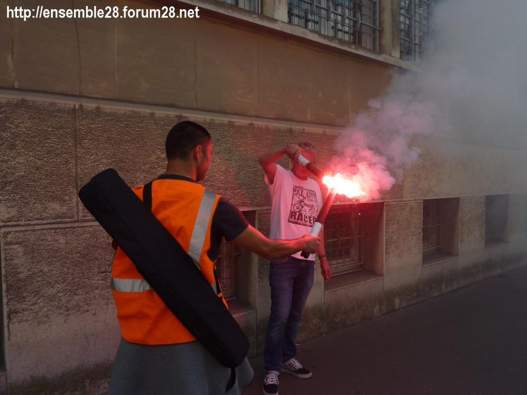 Chartres 18-06-2018 Manifestation CGT Cheminots 09
