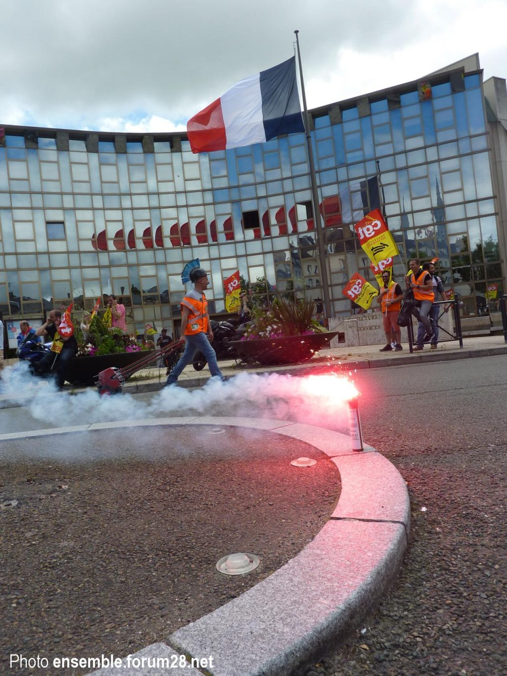 Chartres 18-06-2018 Manifestation CGT Cheminots 10