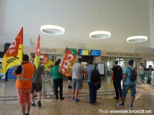 Chartres 18-06-2018 Manifestation CGT Cheminots 12