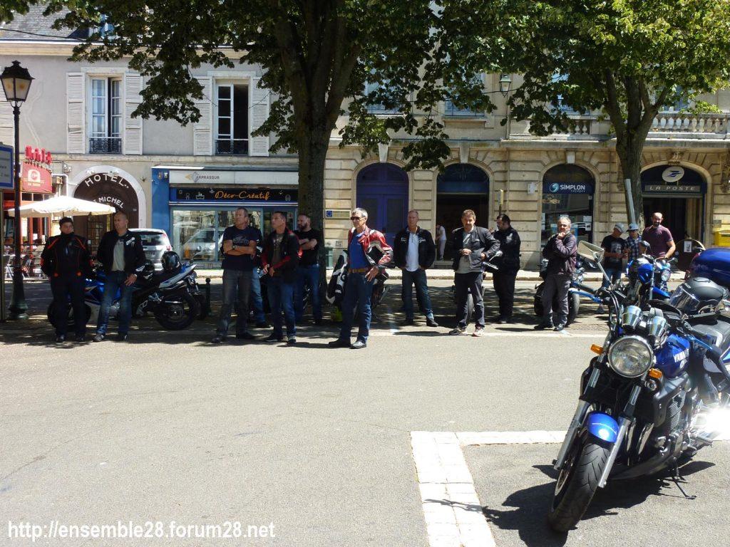 28-07-2018 Châteaudun Maternité Randonnée Moto 02