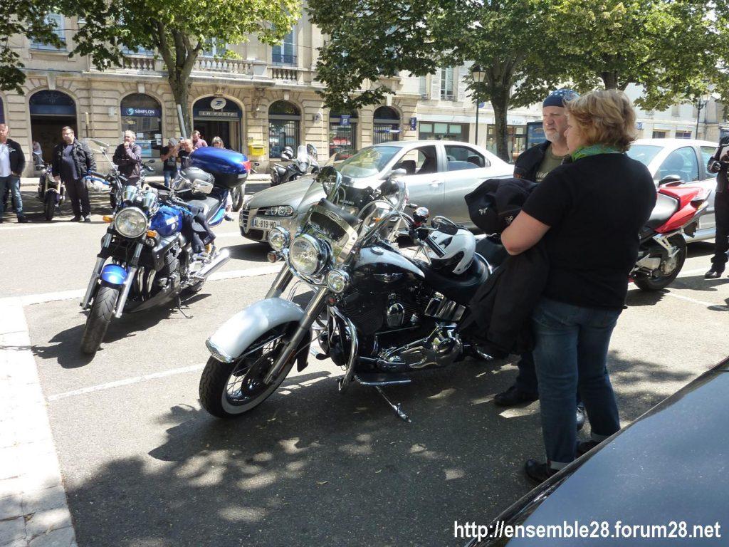 28-07-2018 Châteaudun Maternité Randonnée Moto 03