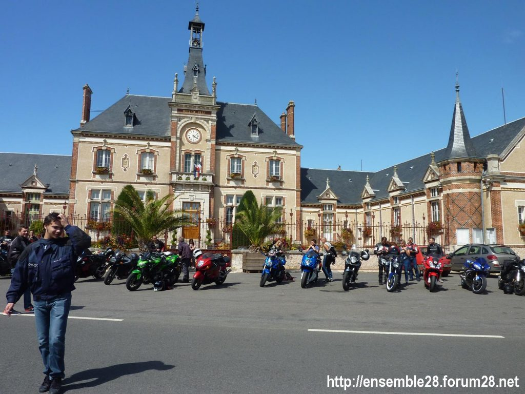 28-07-2018 Châteaudun Maternité Randonnée Moto 06