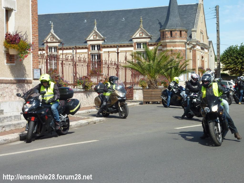 28-07-2018 Châteaudun Maternité Randonnée Moto 10
