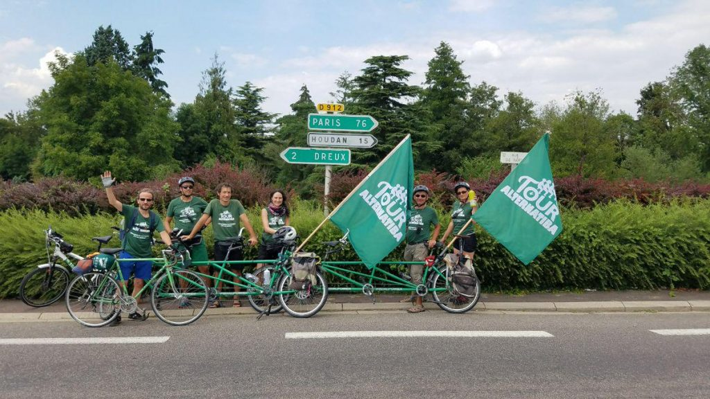 Alternatiba 2018 Dreux Tour de France Houdan