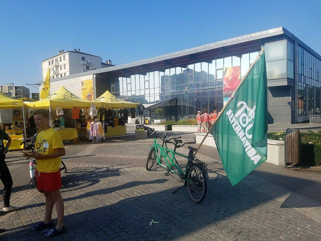 Alternatiba 2018 Dreux Tour de France Odyssée