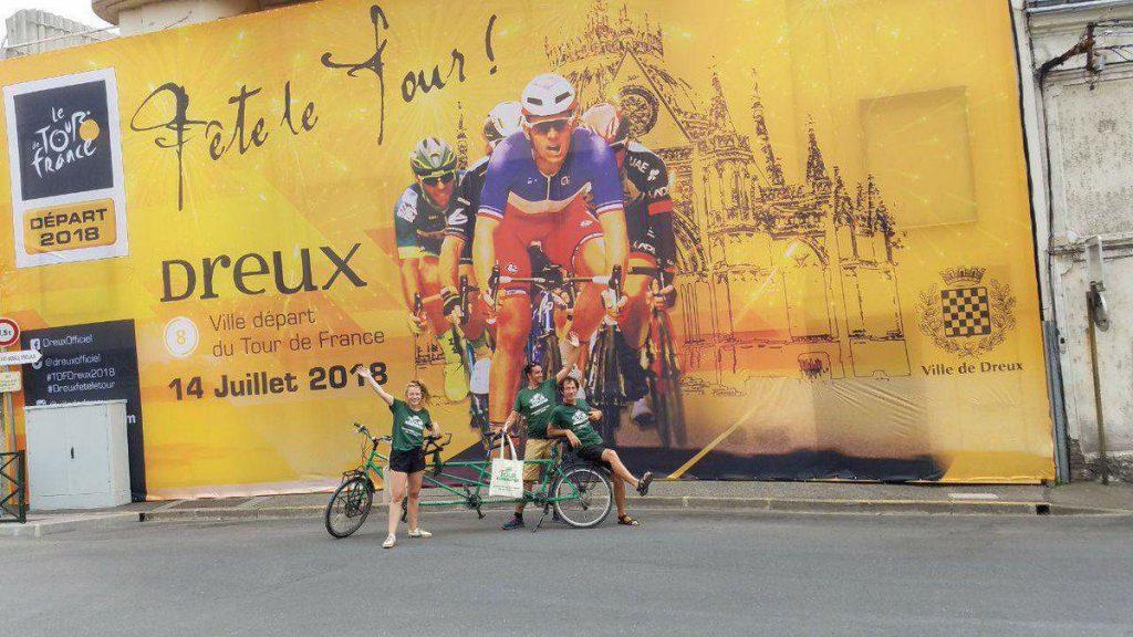 Alternatiba 2018 Dreux Tour de France ex-Cinéma Delta