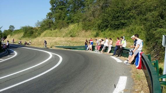 Fermaincourt Non à la privatisation de la RN154 Tour-de-France-2018 2