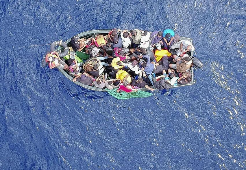 Bâteau migrants [Retaillé]