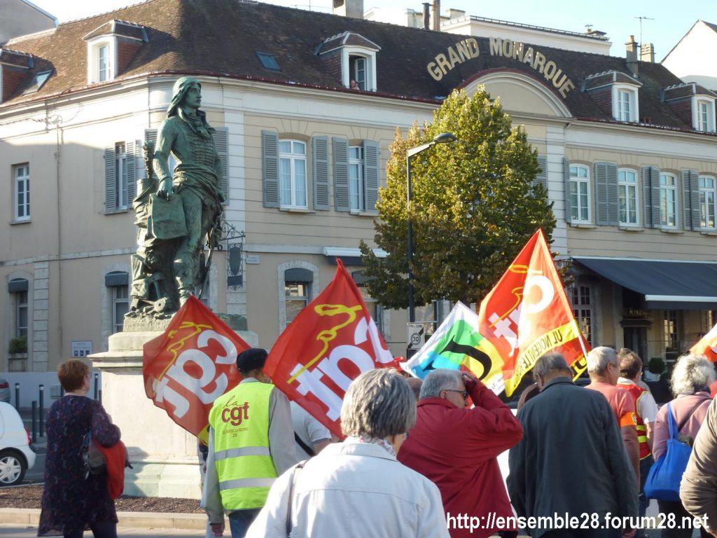 09-10-2018 Chartres Manifestation Interprofessionnelle 03