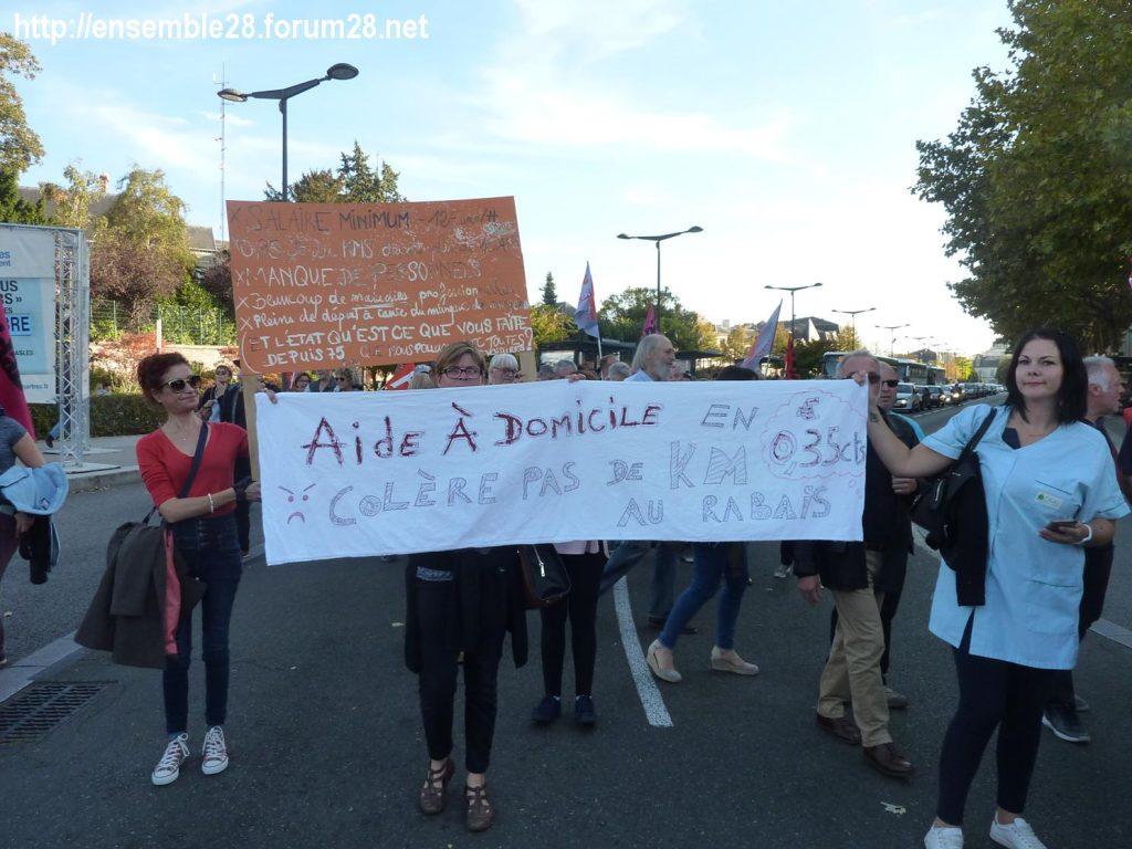 09-10-2018 Chartres Manifestation Interprofessionnelle 06 ADMR
