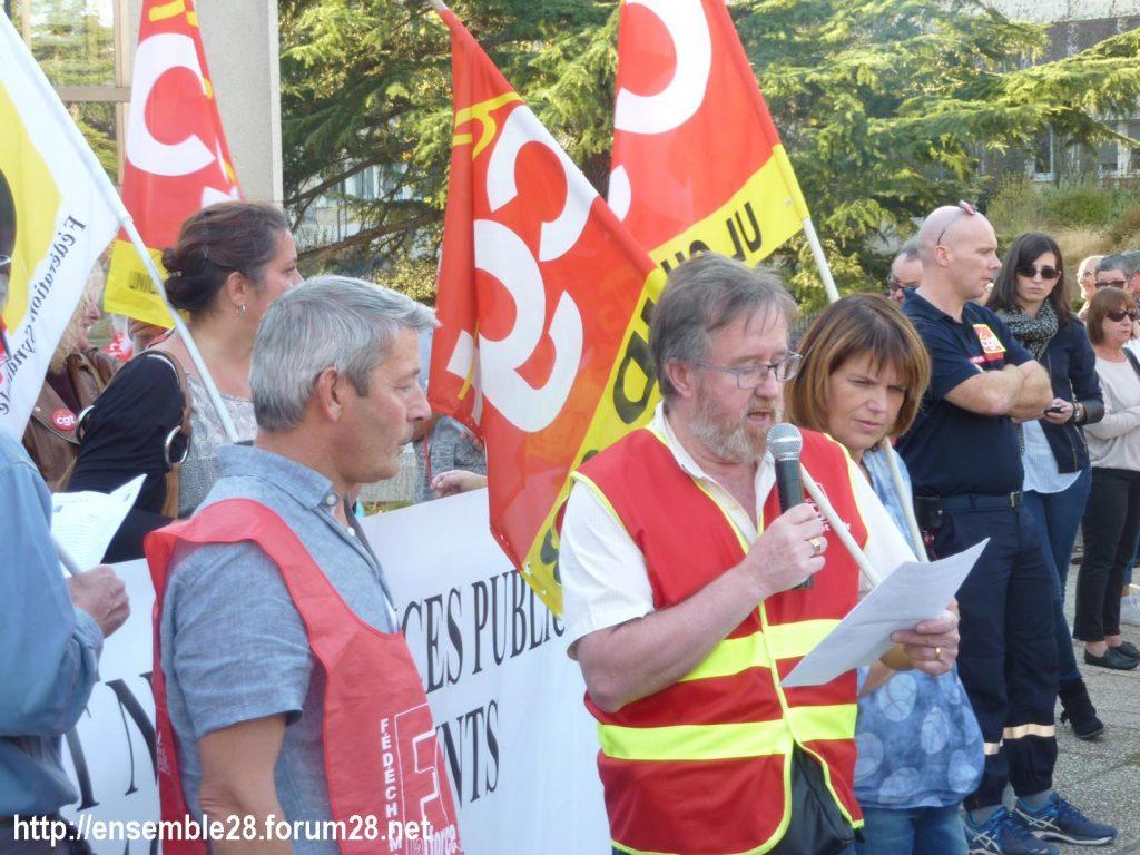 09-10-2018 Chartres Manifestation Interprofessionnelle 08