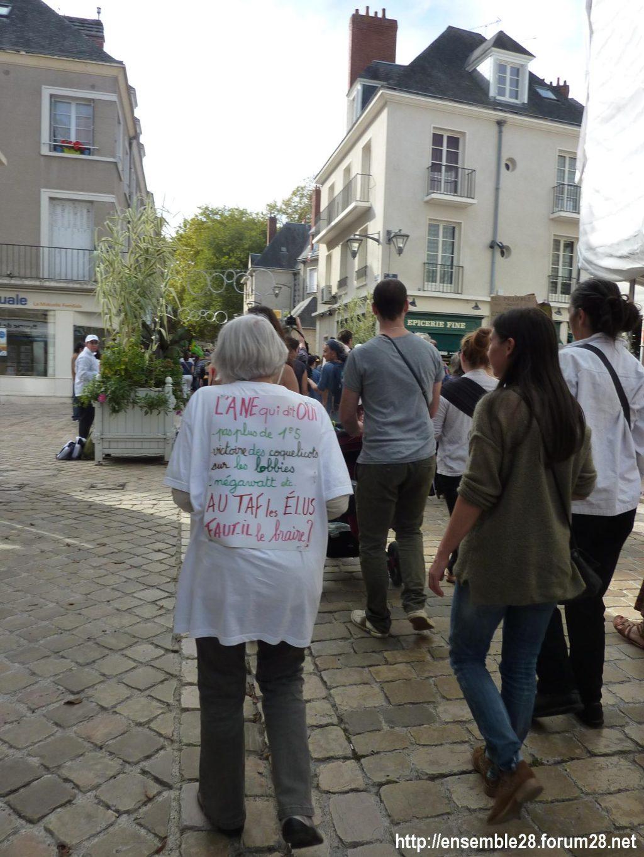 Blois 13-10-2018 Manifestation Urgence-climatique 04