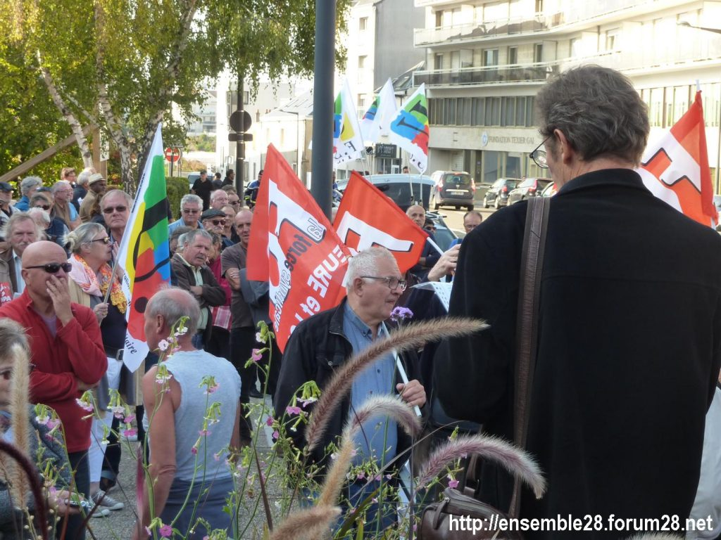 Chartres 18-10-2018 Manifestation Retraités 02