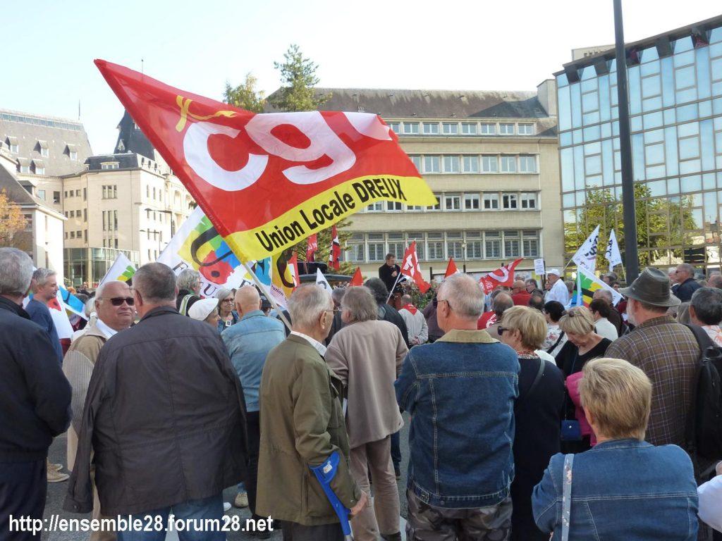 Chartres 18-10-2018 Manifestation Retraités 05
