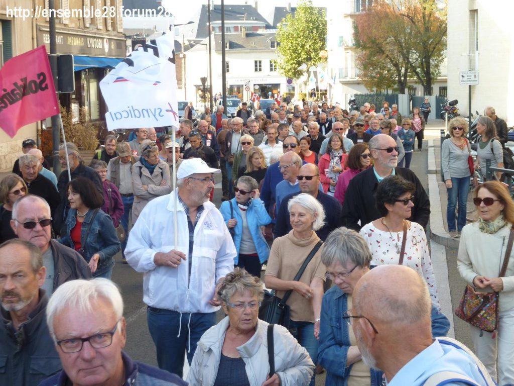 Chartres 18-10-2018 Manifestation Retraités 06