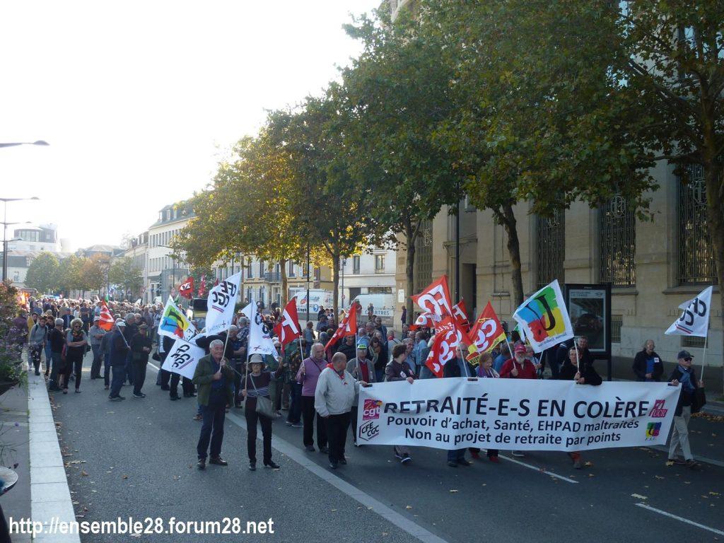 Chartres 18-10-2018 Manifestation Retraités 08