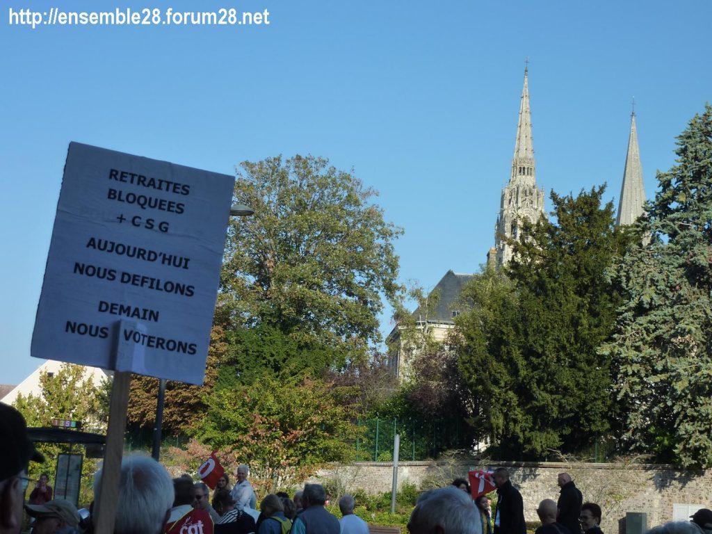 Chartres 18-10-2018 Manifestation Retraités 09