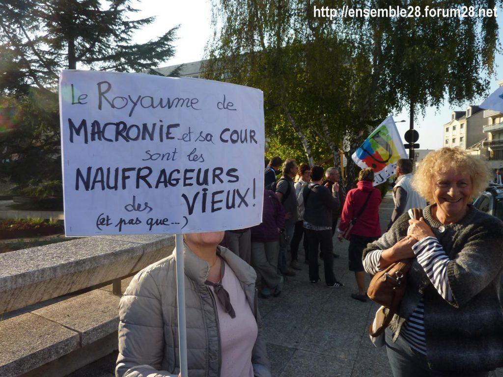 Chartres 18-10-2018 Manifestation Retraités 12