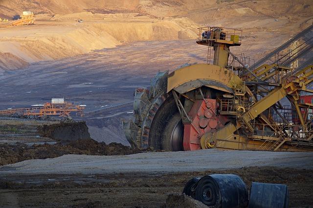 Extraction minière