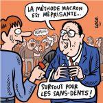 Hollande tacle Macron Sans-dents