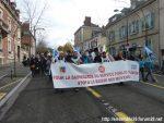 Chartres 12-11-2018 Manifestation Éducation-nationale FSU SGEN-CFDT UNSA-Éducation 12