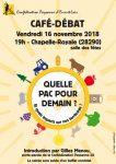Confédération-paysanne28 Café-Débat Chapelle-Royale 16-11-2018