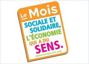 Logo Le Mois de l'ESS