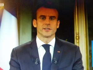 Allocution Macron 10-12-2018 Capture TV 01