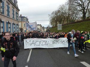 Chartres 04-12-2018 Manifestation Lycéens Parcoursup 09