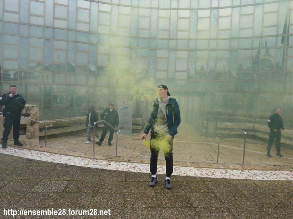 Chartres 04-12-2018 Manifestation Lycéens Parcoursup 10
