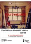 ETAT-DURGENCE Affiche